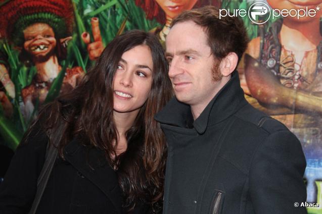 Olivia Ruiz et Mathias Malzieu lors de l'avant-première d'Arthur et la vengeance de Maltazard, le 22 novembre 2009, au Gaumont Ambassade.