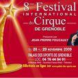 Jean-Pierre Foucault présente la 8e édition du Festival du Cirque de Grenoble