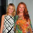 Blake et sa soeur Lori à l'occasion de la Fashion Week de New York, le 10 septembre 2008