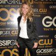 Blake Lively lors de la soirée de lancement de la série  Gossip Girl , à New York le 18 septembre 2007