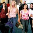 Amber Tamblyn, Blake Lively, America Ferrera et Alexis Bledel dans le film  Quatre filles et un jean,  sorti en 2005