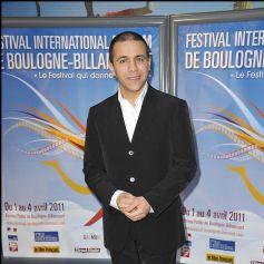 Faudel durant le Festival International du Film de Boulogne