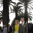 Princesse Mathilde et son époux à l'école des Beaux-Arts du Maroc le 24/11/09