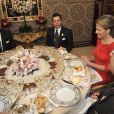 La princesse Mathilde a goûté aux mets marocains le 24/11/09