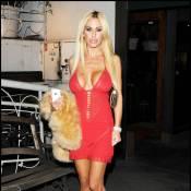 La très distinguée Shauna Sand... décolletée de partout pour aller dîner à Beverly Hills !