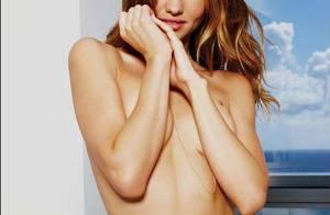 La très ravissante Miranda Kerr... est vraiment craquante en tenue d'Eve !