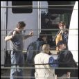 Tom Cruise sur le tournage de Knight & Day le 30 novembre 2009 à Cadiz en Espagne
