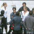 Cameron Diaz et Tom Cruise, sur le tournage de  Knight & Day