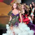 Heidi Klum au défilé Victoria's Secret le 18 novembre à New York