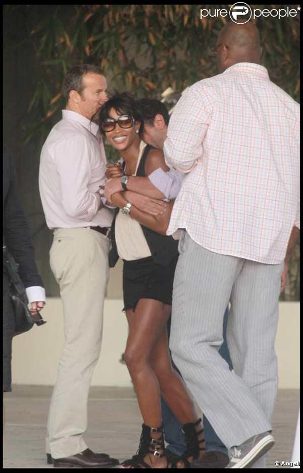 Naomi Campbell et son chéri Vladislav Doronin à Miami