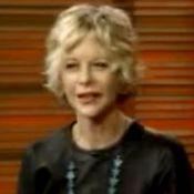 Meg Ryan à la télévision américaine : Abîmée... par la chirurgie esthétique !