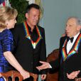 Hillary Clinton, Bruce Sprinsteen et Mel Brooks au Kennedy Center, à Washington le 6 décembre 2009.