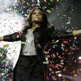 Janet Jackson performe durant le Jingle Bell Bal au O2 à Londres le 6 décembre 2009