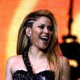 Shakira performe  durant le Jingle Bell Bal au O2 à Londres le 6 décembre 2009