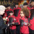 La reine Elizabeth II au Royal Variety Show 2009. 7/12/09