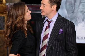 Robert Downey Jr. partage le bonheur de sa consécration... avec les femmes de sa vie !