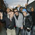 Johnny Hallyday vendredi 4 décembre à LA, il fait le couillon en sortant de chez Petrossian
