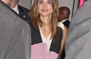 Rania de Jordanie : Elle fait la fête avec Bono pendant que son mari... travaille avec Sarkozy !
