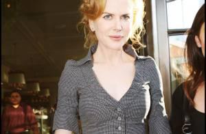 Nicole Kidman a bu trop de bière ou alors... En tout cas, elle cache bien son ventre !