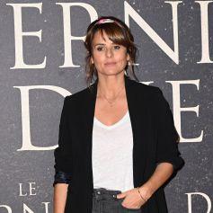 """Faustine Bollaert - Avant-première française du film """"Le Dernier Duel"""" au Cinéma Gaumont Champs-Élysées à Paris. © Coadic Guirec / Bestimage"""