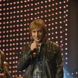 Cérémonie de remise des Grands Prix de la Sacem 2009, le 14 décembre au Théâtre du Rond-Point, à Paris : David Guetta