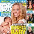 Kendra Wilkinson présente son bébé Hank Baskett en couverture du magazine OK