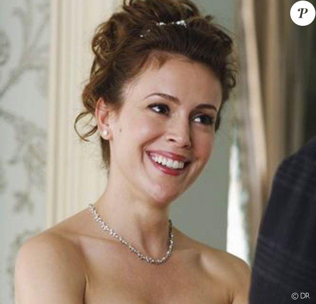 Alyssa Milano dans l'épisode 12 de la saison 2 de la série Castle, qui sera diffusé début 2010 sur ABC.