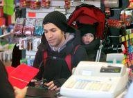 Ashlee Simpson et Pete Wentz : Leur petit Bronx, en balade à New York, est... trop craquant, en modèle sac à dos !