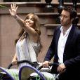Jennifer Lopez sur le tournage de The Back-Up Plan