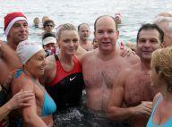 Albert de Monaco et Charlene Wittstock, toujours amoureux, embarquent Pierre Casiraghi... pour un bain glacé !