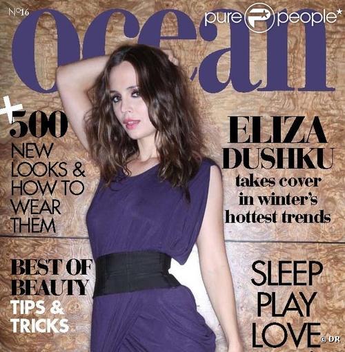 Eliza Dushku en couverture de Ocean magazine pour le mois de janvier 2010