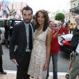 Christel Khalil et son mari Stephen Hensley au festival international de télévision de Monte-Carlo en juin 2008