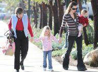 Jennifer Garner : Promenade entre filles avec ses adorables Violet et Seraphina et... leur grand-mère !