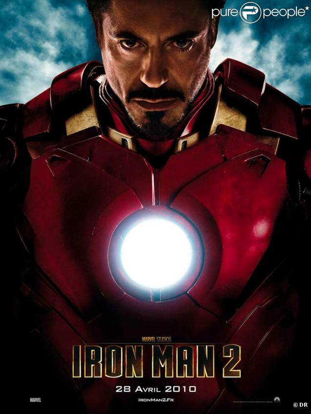 Des images d' Iron Man 2 .