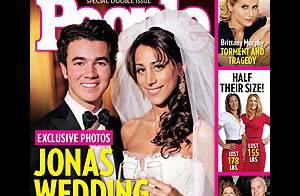 Kevin Jonas et sa femme Danielle vous offrent... leur photo de mariage !