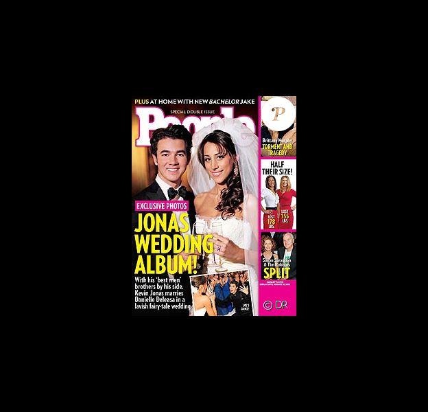 Kevin Jonas et Danielle sur leur première photo de mariage !