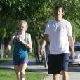 Dakota Fanning en pleine séance footing avec son père