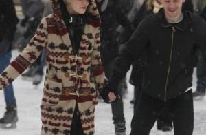 Pixie Geldof : Quand elle se prend pour Candeloro au bras d'un
