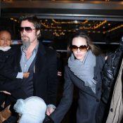 Brad Pitt et Angelina Jolie : Zahara, Shiloh, Maddox et Pax sortent doudounes et chapkas pour... Mary Poppins !