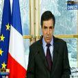 François Fillon s'exprime sur la mort de Philippe Séguin, vidéo retransmise par BFM TV