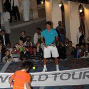 """Regardez Roger Federer et Rafael Nadal dans un étonnant remake des """"Mille et une nuits"""" !"""