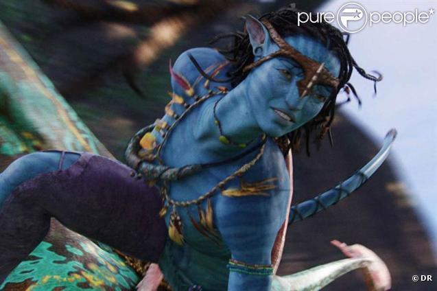 Des iamges d' Avatar , de James Cameron.