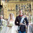 Marie Cavallier et son époux Joachim de Danemark