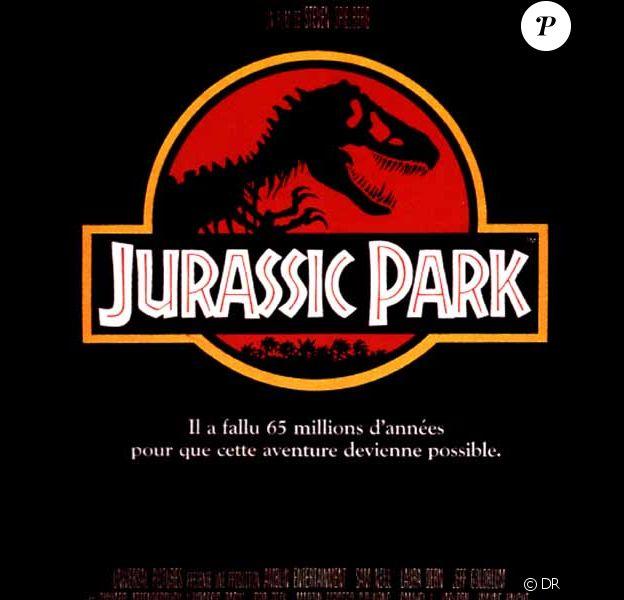 L'affiche du premier Jurassic Park