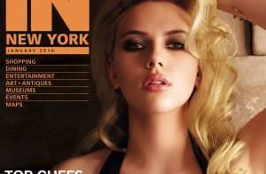 Regardez Scarlett Johansson divine et venimeuse... exhiber un décolleté d'anthologie !