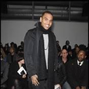 Chris Brown : pour la Fashion Week masculine à Milan... c'est lui la star des défilés ! Y'avait personne de libre ?