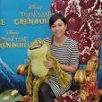 Avec son look de petite fille sage, la jolie Leslie est une fan de dessin-animé... Et cette Fée Clochette ne pouvait en aucun cas louper l'avant-première de La Princesse et La Grenouille au Grand Rex le 17 janvier 2010