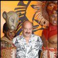 Michel Jonasz lors du spectacle du Roi Lion au théâtre Mogador le 20 janvier 2010
