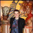 Bénabar lors du spectacle du Roi Lion au théâtre Mogador le 20 janvier 2010
