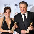 Alec Baldwin et Tina Fey lors des Emmy Awards 2008